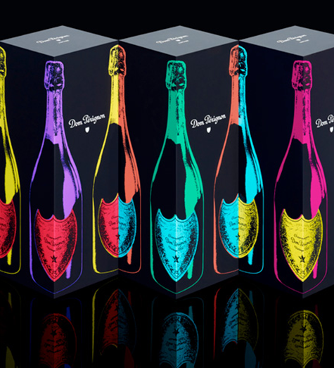 Andy Warhol x Dom Pérignon: Pop Art Homage at NY Fashion Week